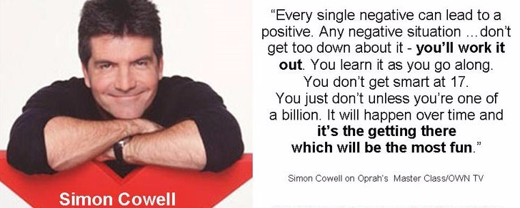 simon cowell, success, quotes