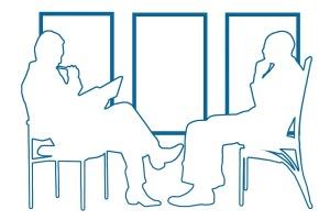 interview, meeting,